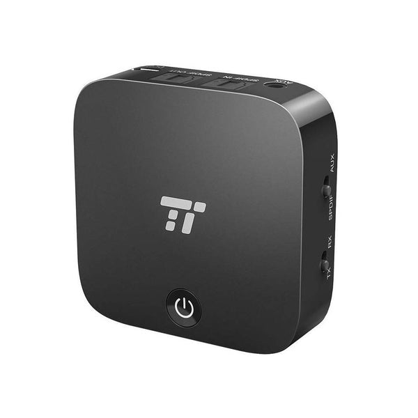 TaoTronics Bluetooth 5.0 Transmitter//Receiver apt Wireless 3.5mm Audio Adapter