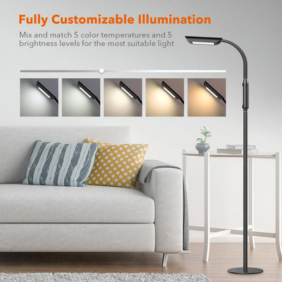 TaoTronics Floor lamp with 1815 Lumens DL060 Gallery 2