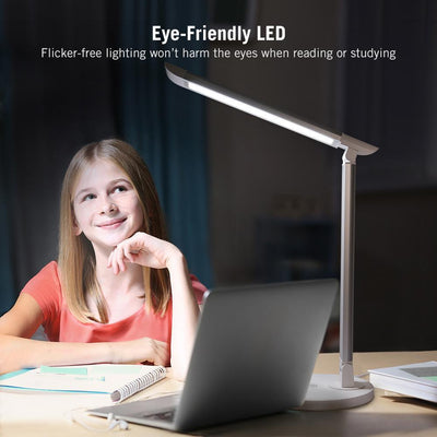 TaoTronics LED Eye-caring Table Lamps with USB Charging Port DL13 Gallery 7