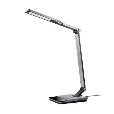 LED Desk Lamp with Fast Wireless Charger&5V/2A USB Port-TaoTronics