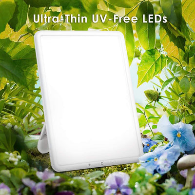 Light Therapy Lamp 16, 10000 Lux UV-Free LED Sun Lamp-TaoTronics