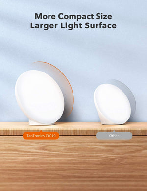 Light Therapy Lamp 19, 10000 Lux LED Light Source-TaoTronics