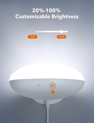 Light Therapy Lamp 19, 10000 Lux LED Light Source
