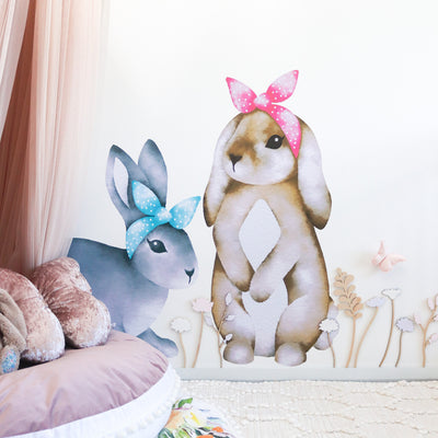 bunny rabbit wall decals - Little Lion House Perth