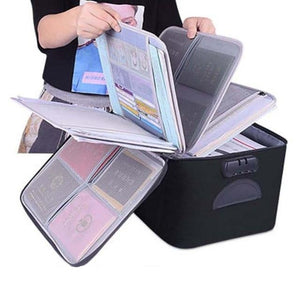 DocuSAFE™ Waterproof Document Storage Bag