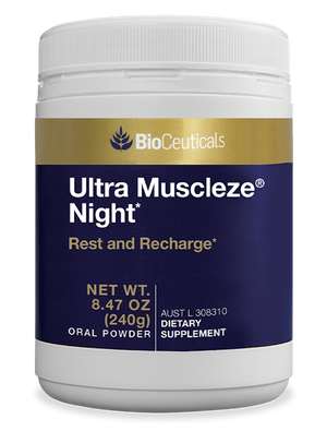 BioCeuticals Ultra Muscleze Night Powder