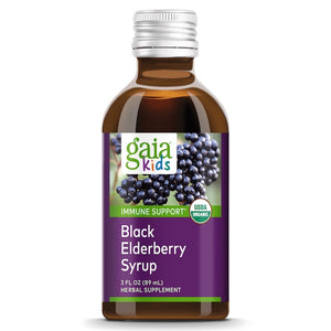 Gaia Kids Black Elderberry Syrup