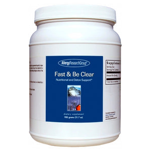 Allergy Research Group Fast & Be Clear Powder