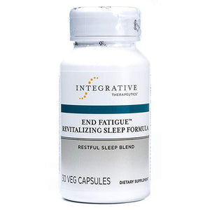 Integrative Therapeutics End Fatigue Revitalizing Sleep