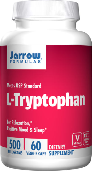 Jarrow Formula L-Tryptophan 500mg