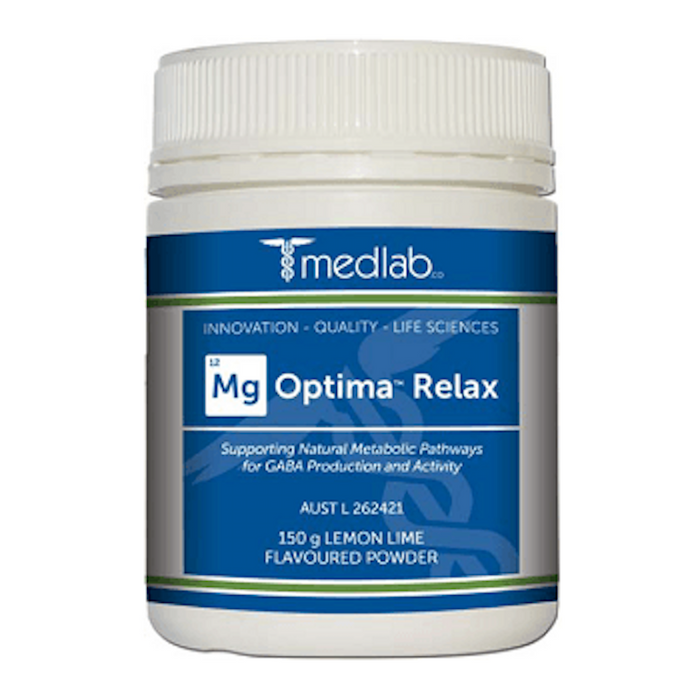 MedLab Mg Optima Relax - Lemon Lime Powder