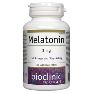 BioClinic Natural Melatonin 3mg