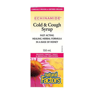 Natural Factors Cold & Cough Syrup