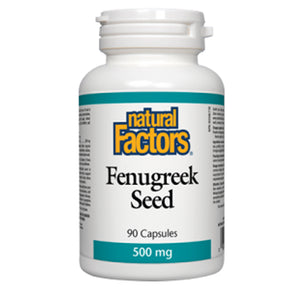 Natural Factors Fenugreek Seed 500mg