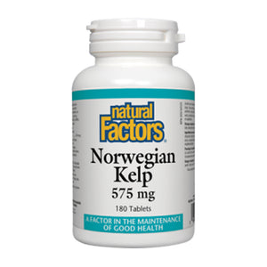 Natural Factors Norwegian Kelp 575mg
