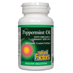 Natural Factors Peppermint Oil Complex