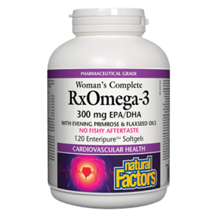 Natural Factors RxOmega-3 Women's Complete