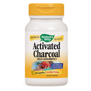 Nature's Way Activated Charcoal 560 mg
