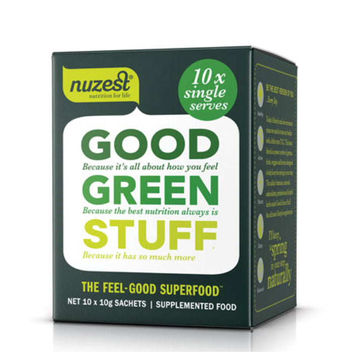 NuZest Good Green Sachet Pack