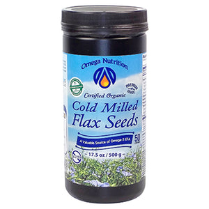 Omega Nutrition Cold Milled Flax Seeds