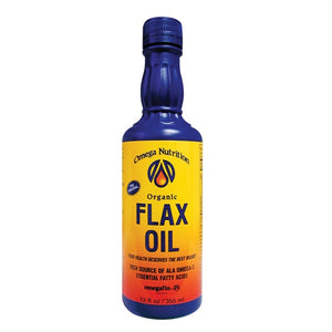 Omega Nutrition Flax Seed Oil