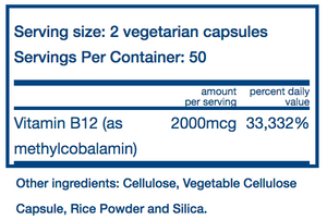 Vital Nutrients Vitamin B-12