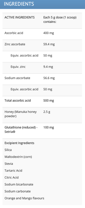 MedLab Manuka-C Powder