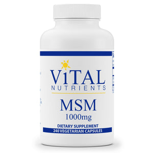 Vital Nutrients MSM 1000mg