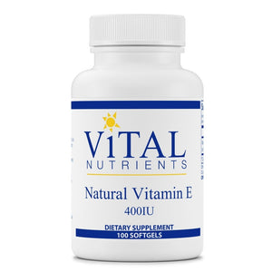 Vital Nutrients Vitamin E 400