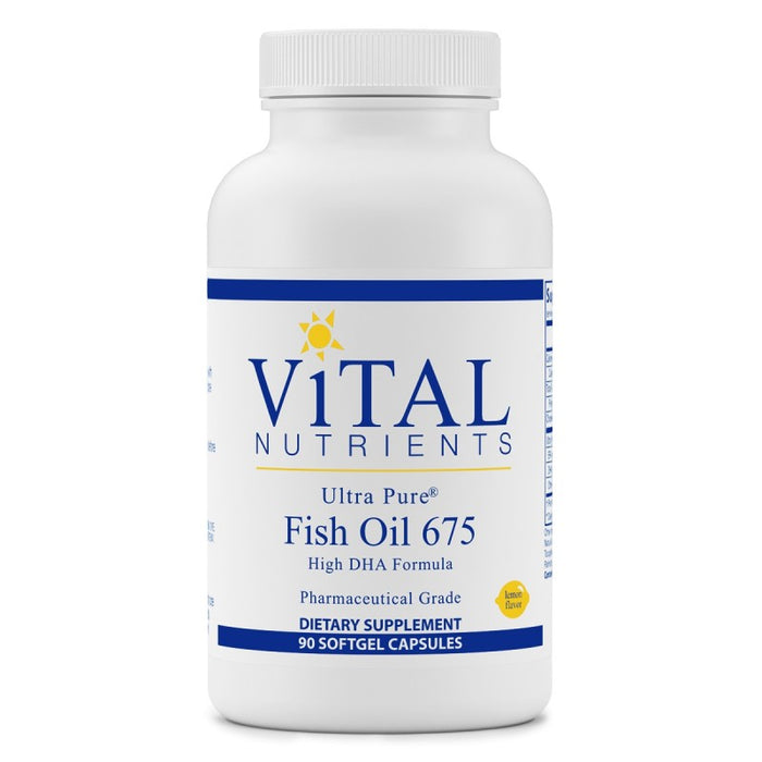 Vital Nutrients Ultra Pure Fish Oil DHA 675mg