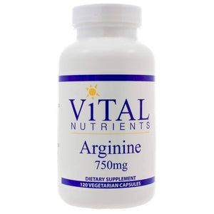 Vital Nutrients Arginine 750mg