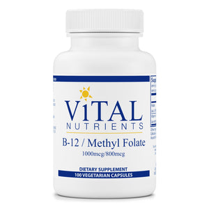 Vital Nutrients B-12 / Methyl Folate