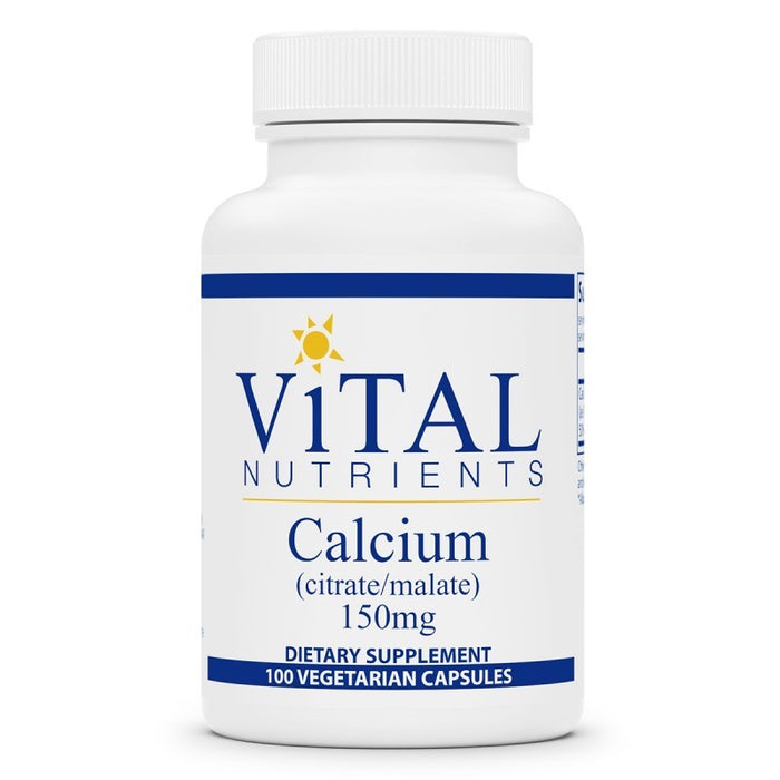 Vital Nutrients Calcium Citrate/Malate 150mg