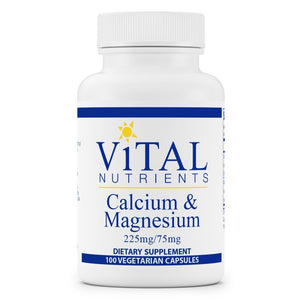 Vital Nutrients Calcium 225mg Magnesium 75mg
