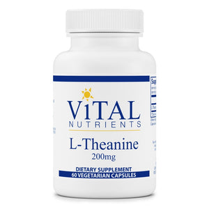 Vital Nutrients L-Theanine 200mg
