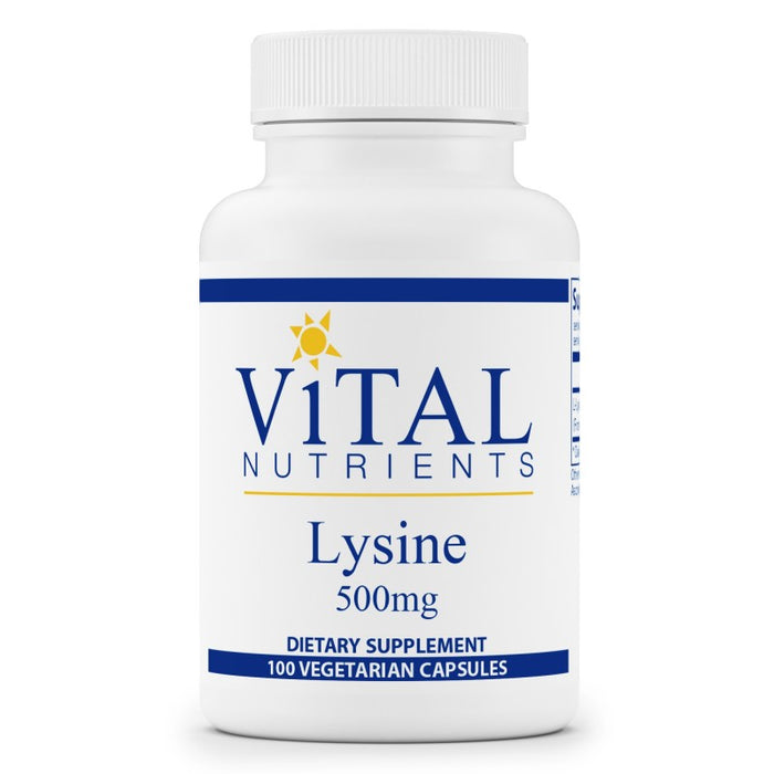 Vital Nutrients Lysine 500mg