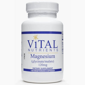 Vital Nutrients Magnesium (Glycinate) 120mg