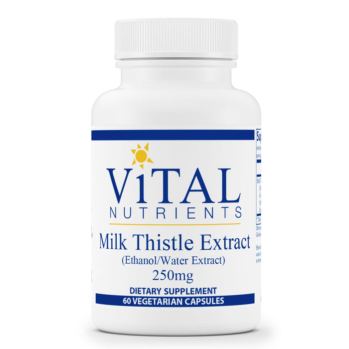 Vital Nutrients Milk Thistle 250mg