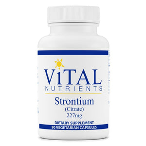 Vital Nutrients Strontium (Citrate) 227mg