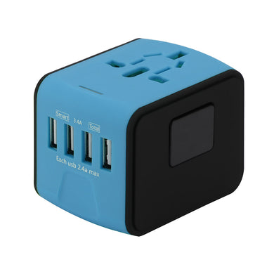 4 USB Port Universal Adapter 🔥 - Buy4Travel