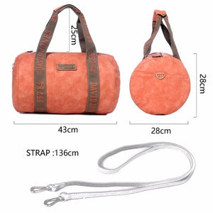 Women duffel PU shoulder bags Top-Handl - Buy4Travel
