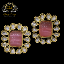 Load image into Gallery viewer, Victorian Kundan Earring