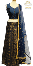 Load image into Gallery viewer, Lehenga - Blue - Classy Missy by Gur