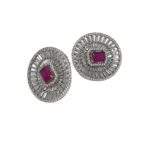 Load image into Gallery viewer, AD-CZ Fashion Designer Earring