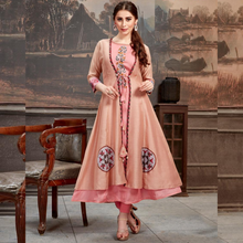 Load image into Gallery viewer, Pink Kurti Long