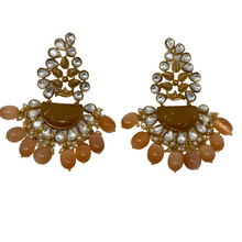 Load image into Gallery viewer, Kundan Earrings
