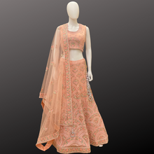 Load image into Gallery viewer, Embroidered Lehenga Set