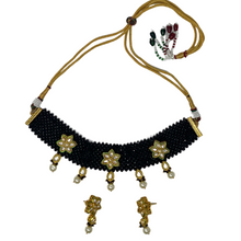 Load image into Gallery viewer, kundan Necklace set