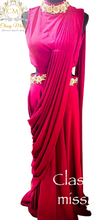 Load image into Gallery viewer, Red Gown - Classy Missy by Gur
