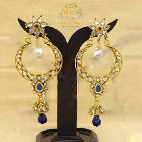 Jhumka earrings - Classy Missy by Gur